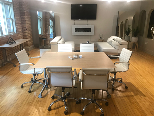 Hook and Reel Conference Table