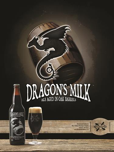 New Holland Brewing Company Dragons Milk Poster