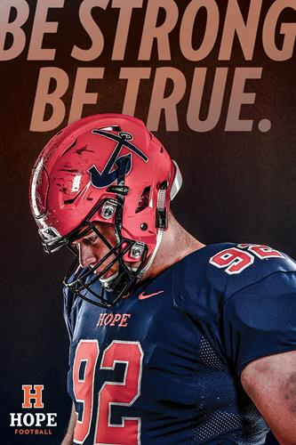 Hope College Football Program Cover