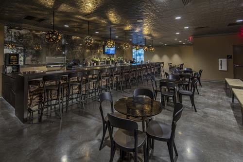 Knickerbocker Zeppelin Lounge Space