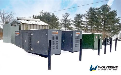 Natural gas generators for nursery / growing facility