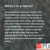 Professional Development Tip: Whats In a Name?