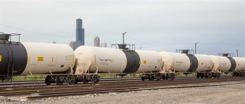 propane rail cars