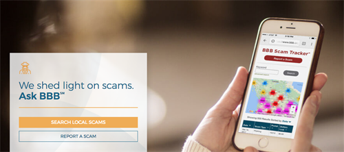 Report scams and scam attempts via BBB's Scam Tracker resource.