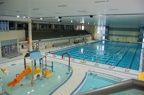 50 Meter Pool Deck