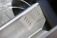 Manufactured Components - Laser Etching Detail