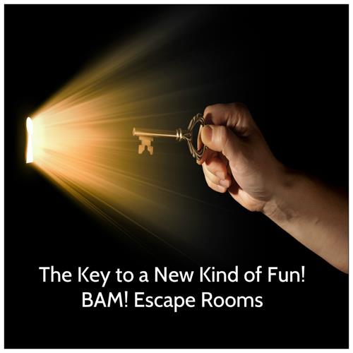 Choose from 4 challenging Escape Room experiences!
