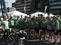 Team ABG at the MSU Gran Fondo