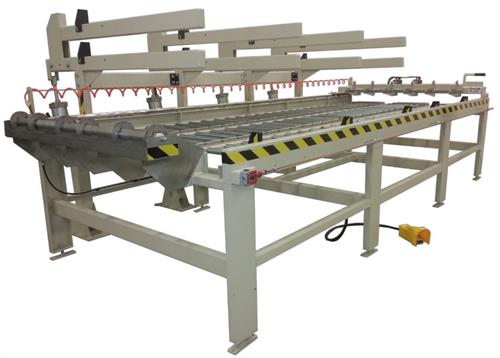 Evans Machinery Lay Up Table with Laminate Rack