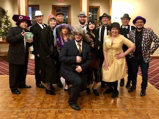 2019 Christmas party Murder Mystery Roaring 20's theme