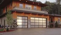 Contemporary Full View Garage Door