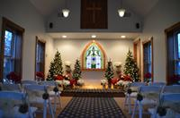 Holiday chapel ceremony.