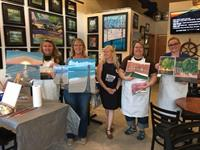Painting Class with Artist Paulette Carr at the Winery