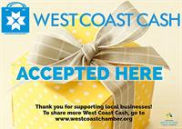 West Coast Cash welcomed here!