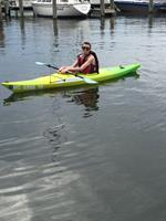 Kids Kayak!!! Made for kids 110lbs or less!
