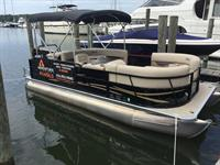 Our pontoon for rent!