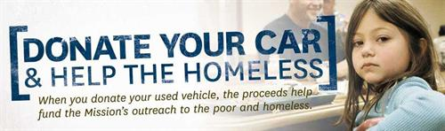 Donate your car and help the homeless