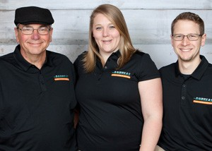 Andreas Plumbing Owners: Steve, Danielle and Nathan