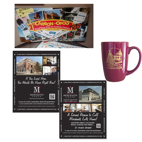 Promotional Product & Signage Design