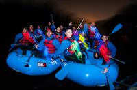 Moonlight Rafting - A nighttime outdoor experience.