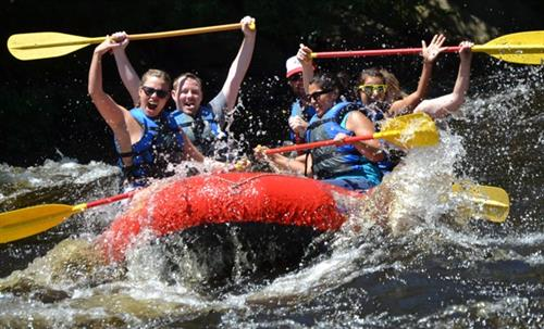 Whitewater Rafting on the Lehigh River - Class 2-3 Rapids on Premier Trips