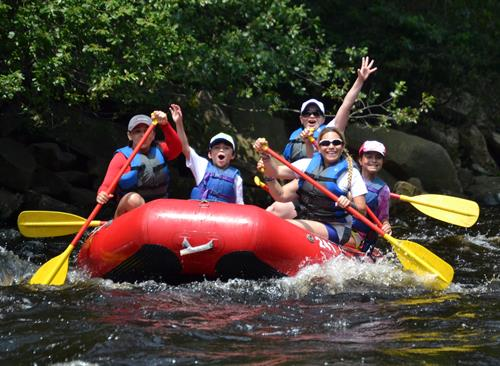 Family Style Rafting available daily all summer!