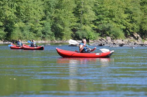 Inflatable Kayaking Trips on the Lehigh River