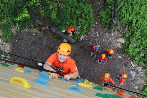 Adventure Camp takes kids to new heights