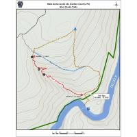 Glen Onoko Falls Trail on State Game Lands 141 Closed