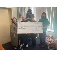 BUCKNO LISICKY & COMPANY DONATES TO  ALLENTOWN RESCUE MISSION