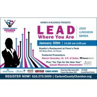 Lead Where You Are – Theme of Women in Business Luncheon Series