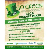 Go Green with the CCEDC 2020 Kickoff Mixer