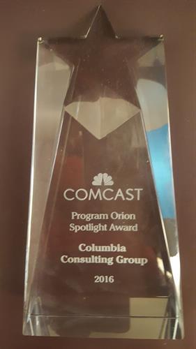 Comcast Spotlight Award