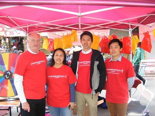 Chinamerica Radio on Mott Street NYC asian Heritage celebration