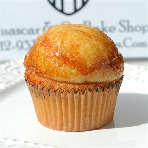 Huascar & Co. Bakeshop Creme Brulee Cupcake