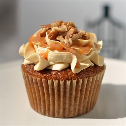 Huascar & Co. Bakeshop Toffeeana Cupcake