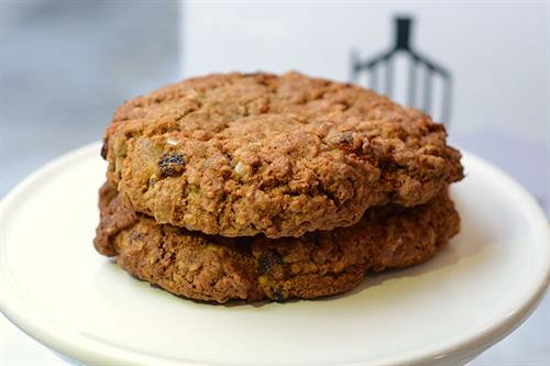 Huascar & Co. Bakeshop Energizer Oatmeal Rum Raisin Cookie