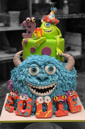 Huascar & Co. Bakeshop Monsters Inc. Birthday Cake