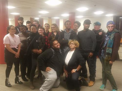 Pride Network youth at a TPN hosted social justice conference.