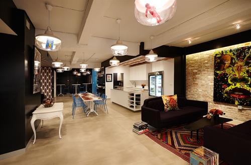 Meet on Chrstie Open Concept Kitchen Area
