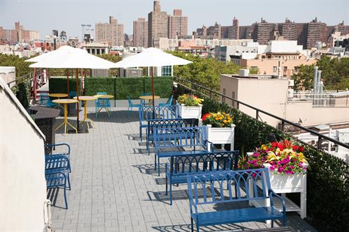 Meet on Bowery Rooftop Garden