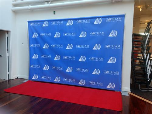 16' x 8' Step and Repeat