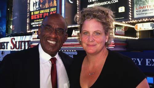 Shana Producing brand content TV show for NBC with Al Roker