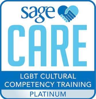 SageCare LGBT Cultural Competency Platinum Credentials