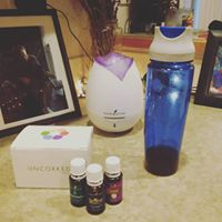 Essential oils are always diffused here as well as to purchase a kit or any of our Young Living Oils or Supplements