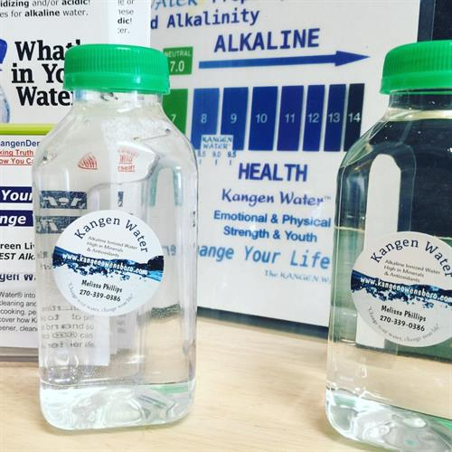 HEALTHY WATER! Kangen 9.5 Alkaline Mineralized Water is the best in town.  We test water for PH and for ORP.  Sold by bottle, gallons or monthly membership