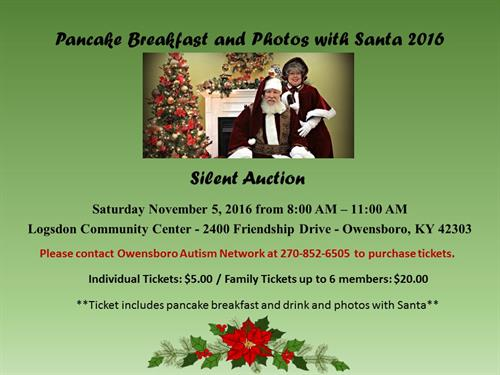 Pancake Breakfast and Photos with Santa