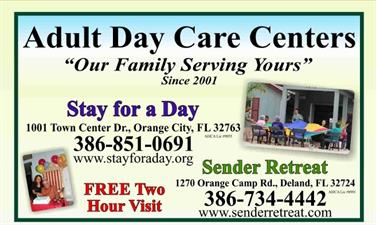 Stay For A Day Adult Day Health Center