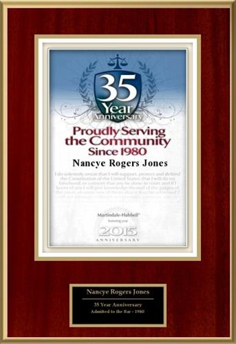 35th Anniversary Plaque