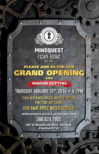 Join us for our Grand Opening on January 10th, 2019 from 5-7pm!